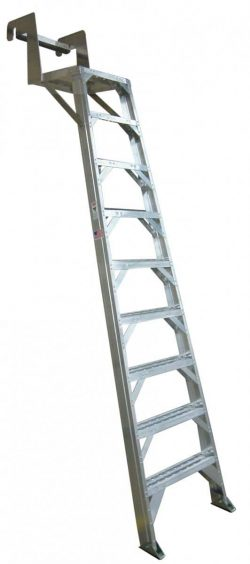 767 Aircraft Wheelwell Ladder