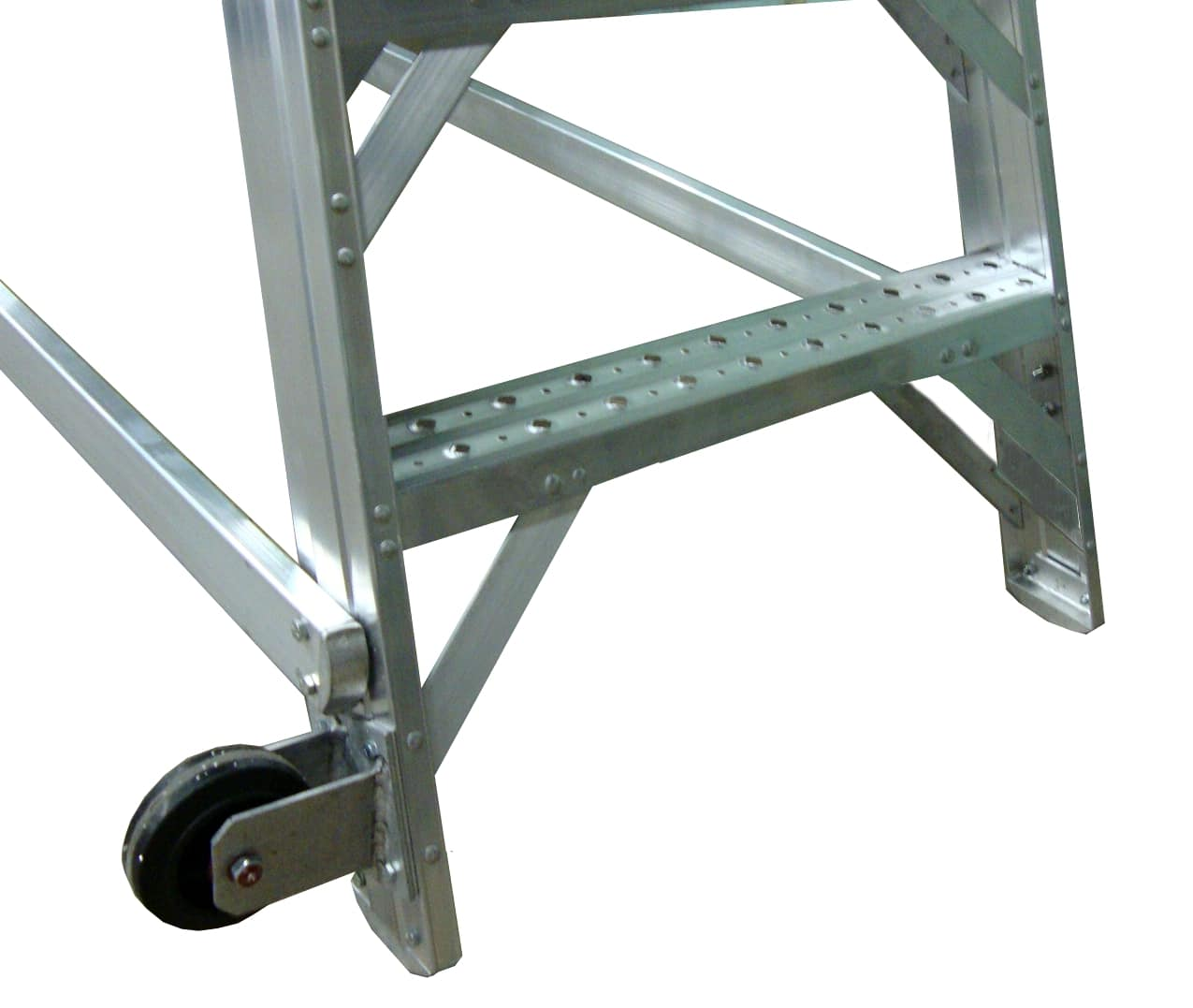 Aircraft Maintenance Ladders Metallic Ladder Corporation