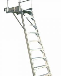 777 Aircraft Wheelwell Ladder
