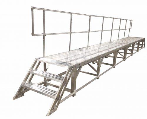 30 Foot Stationary Work Platform