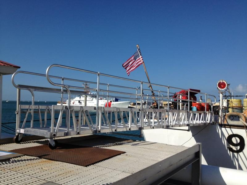 Coast Guard Aluminum Gangway