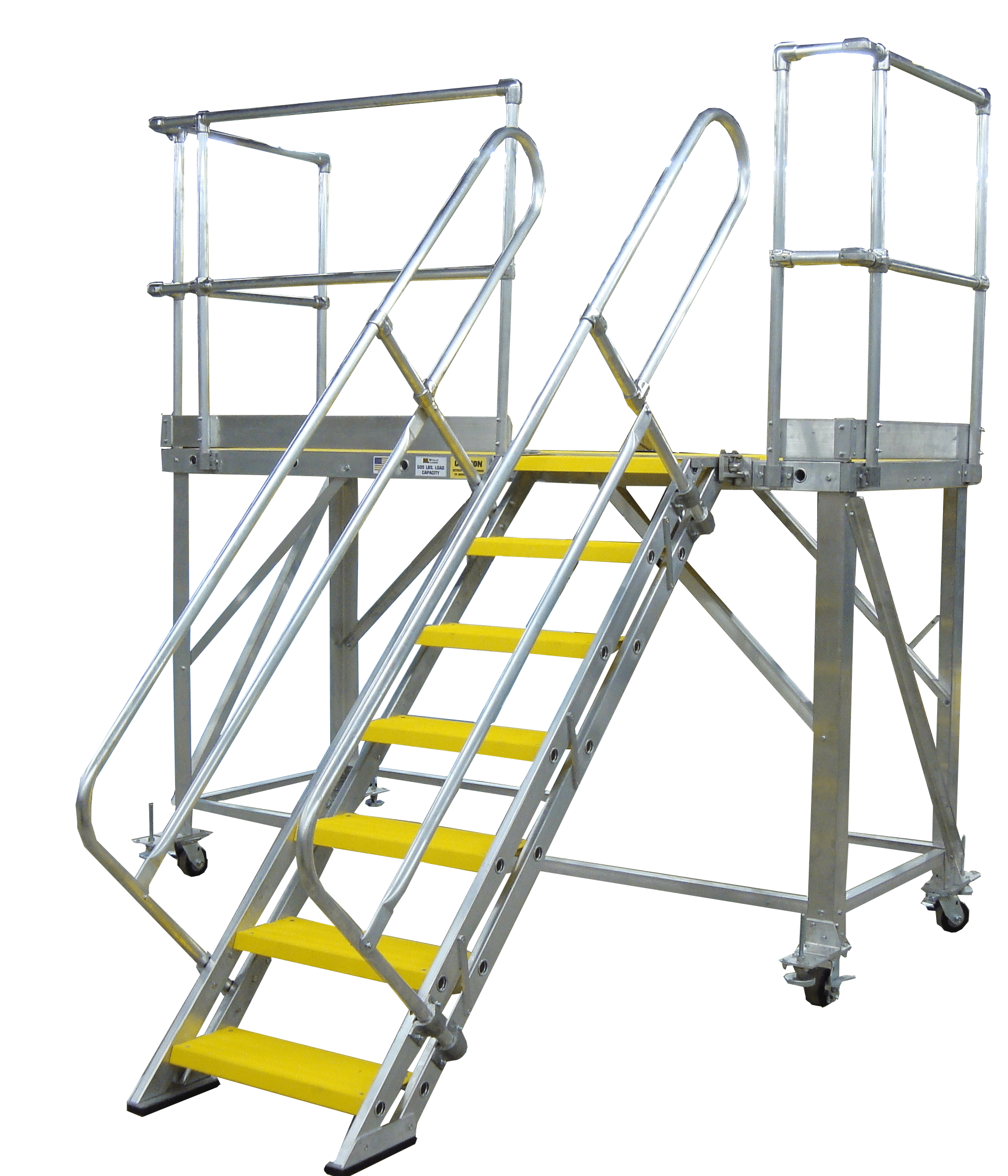 Rolling Work Platforms Metallic Ladder Manufacturing Corp