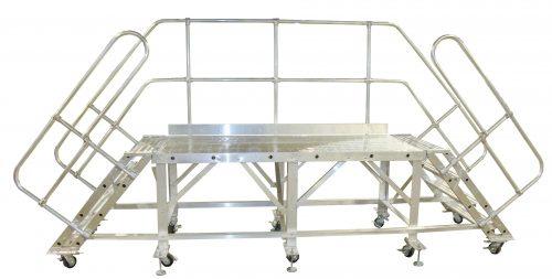 Mobile Work Platform, Double Sided Rolling Platform